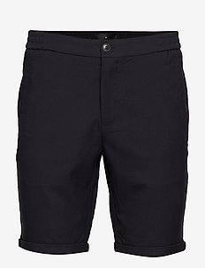 Elasticated shorts - BLACK