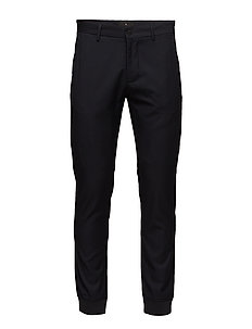 Pin stripe pants - NAVY