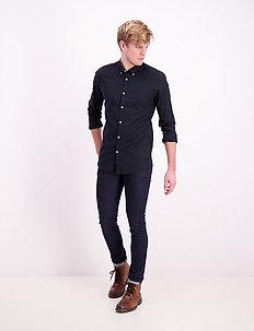 Oxford L/S shirt - basic skjorter - black