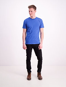Round neck tee - perus t-paidat - blue