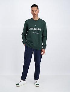 Logo sweat - sweatshirts - dk green