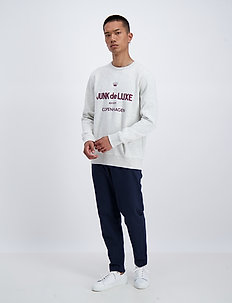 Logo sweat - sweatshirts - lt grey mel
