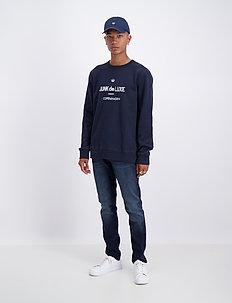 Logo sweat - sweatshirts - navy
