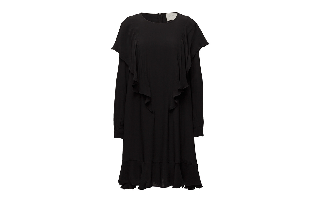 Dress Black 100 Just Female Viscose Lilith UEFxPqw
