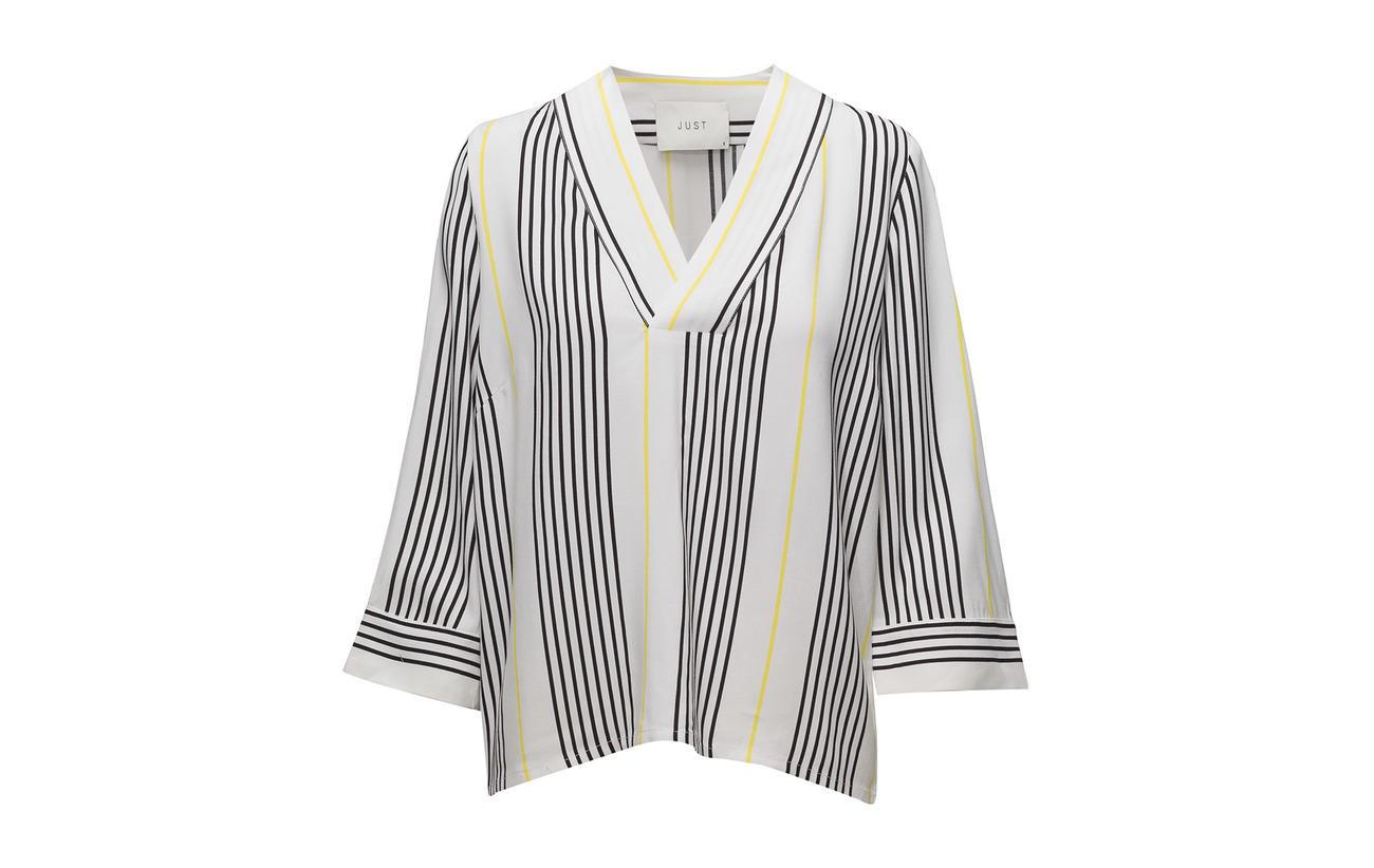 100 Stripe Blouse Rita Just Female Light Aop Viscose 6EqYEwI1