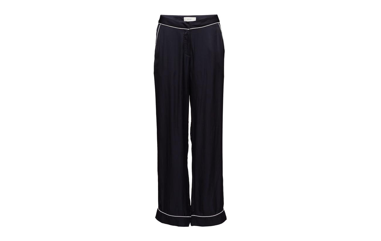 100 Blue Just Viscose Trousers Female Pj 7PxqUxIw1