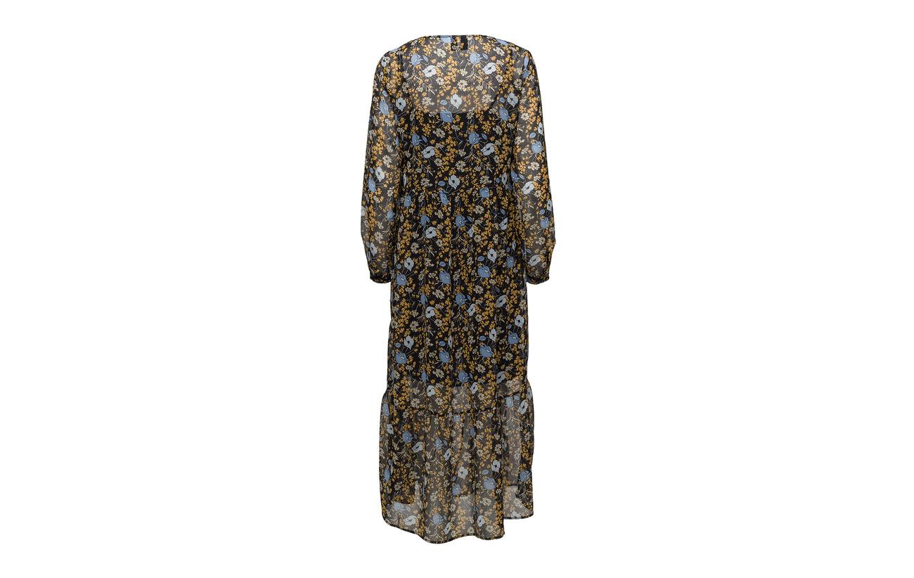 Polyester 100 Corn Dress Antonin Aop Flower Maxi Just Female Yellow xZPqAxwz