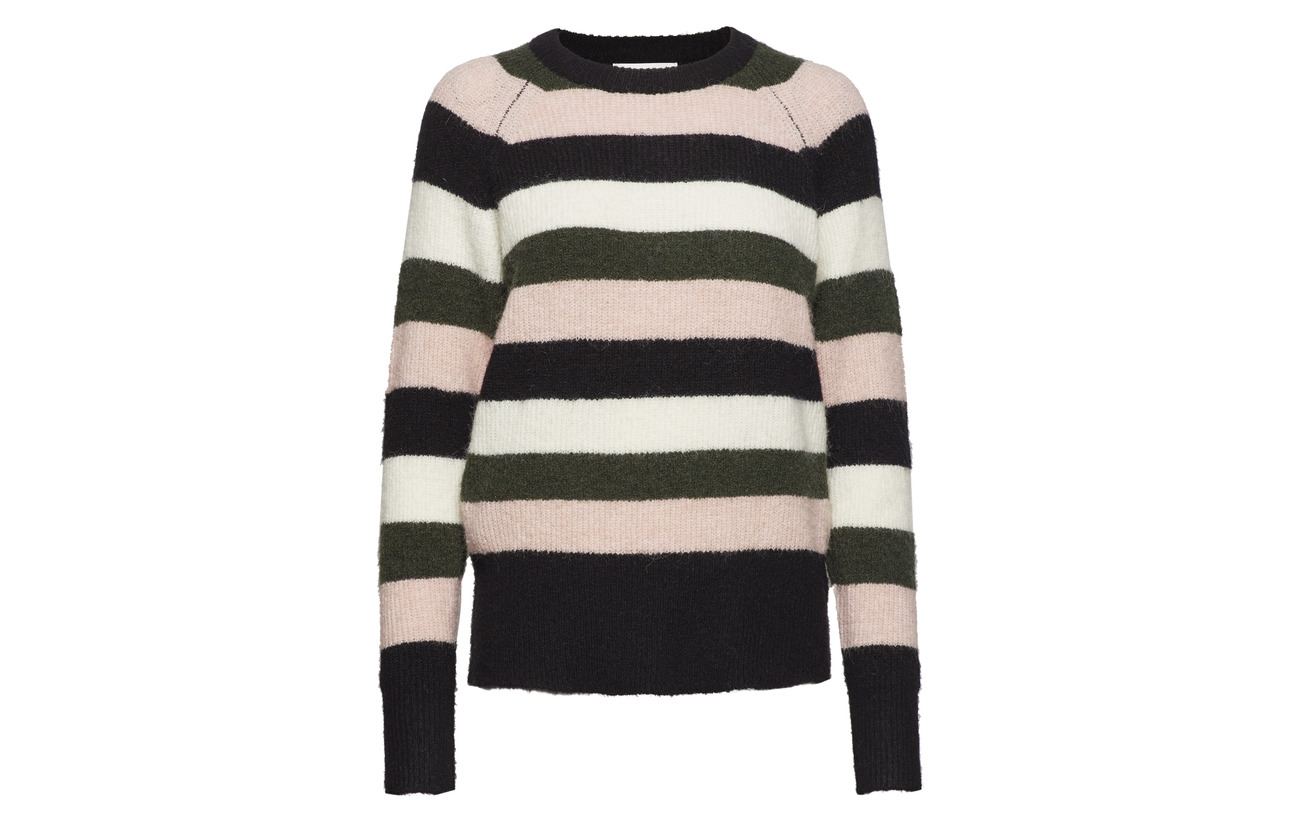 Estelle Laine Polyester Female Multi Just 27 Mohair Knit 5 Elastane 34 Stripe a76Rw