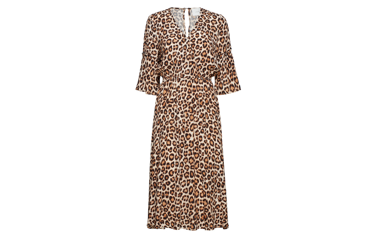 100 Aop Dress Female Leon Viscose Just Mathieu wn8qXv8WCx
