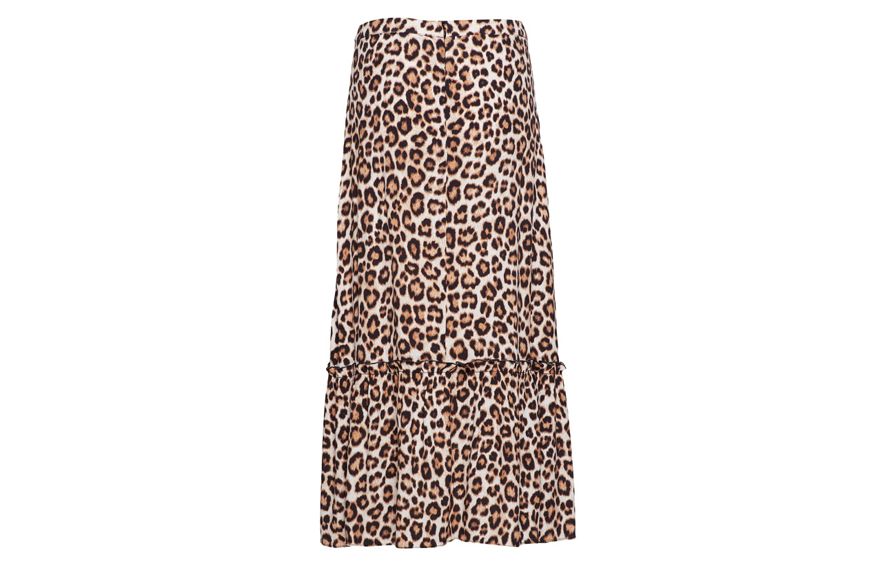 Viscose Maxi Skirt Leon Mathieu Female 100 Aop Just qZE60q