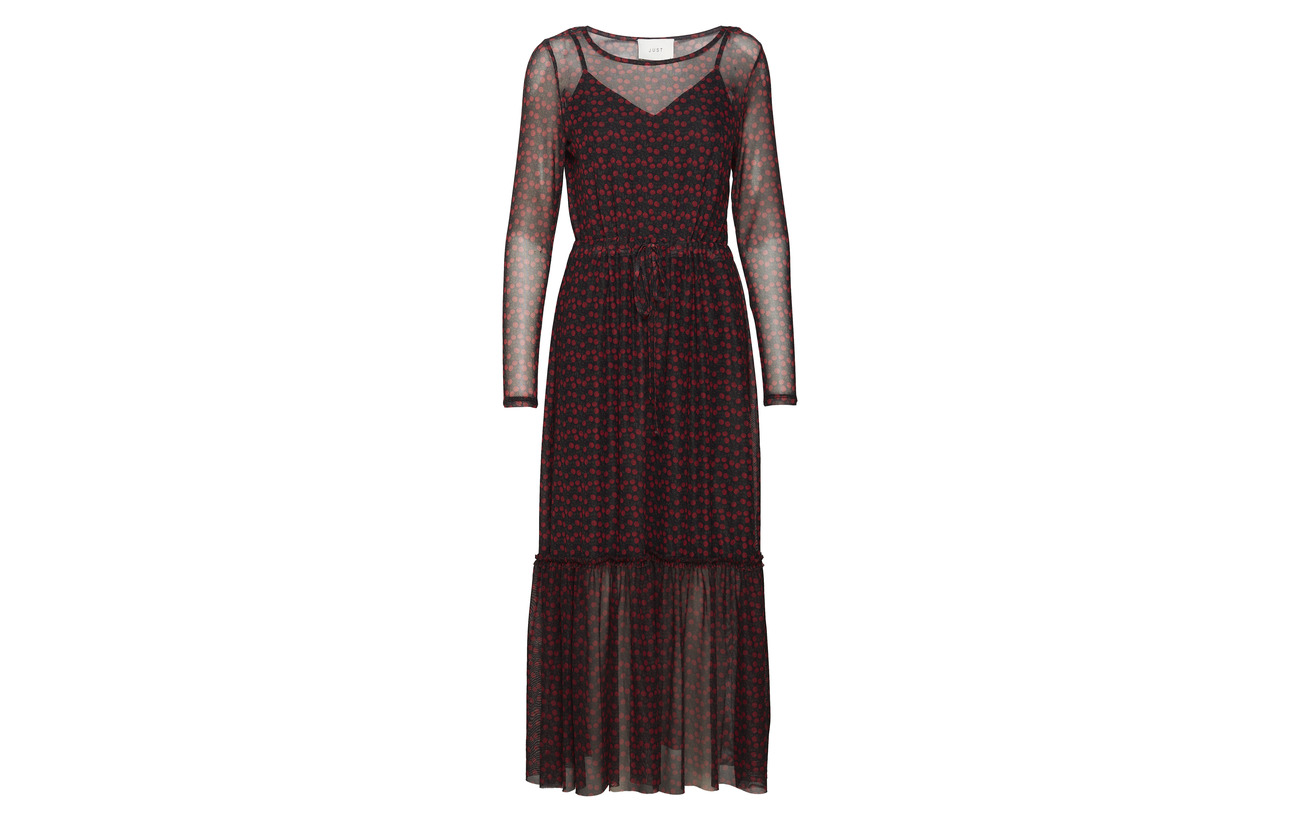 Rose Just Elastane Aop Polyamide 8 92 Dress Female Maxi Tiny Alley wqqxFpXf7