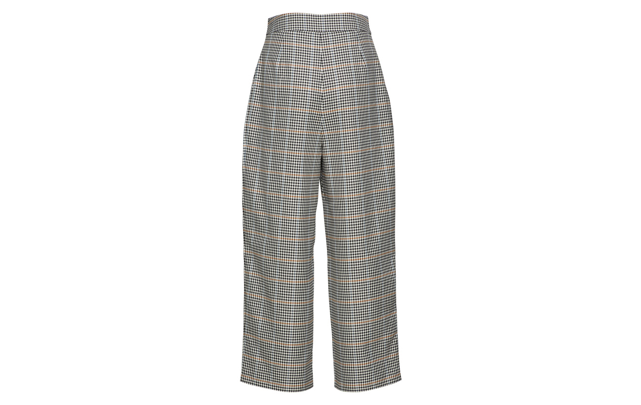 Bright Check Viscose Holmes 35 65 Trousers Polyester Just Wide Female w1RIUI