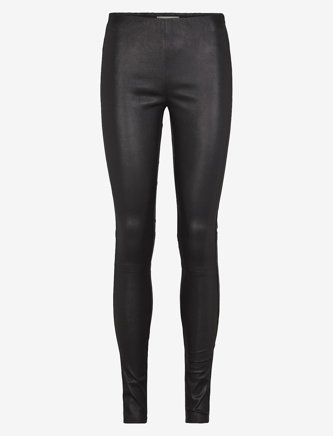 Just Female - Nex leather leggings - leather trousers - black - 0