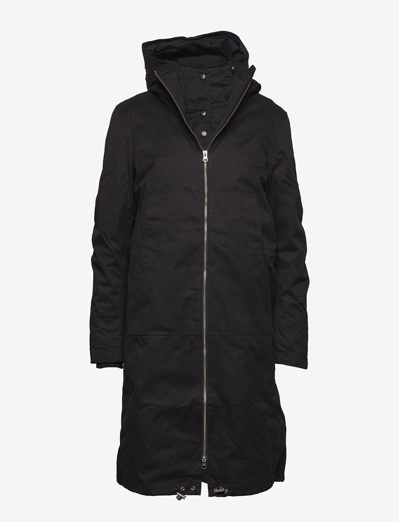 Just Female - Steal coat - padded coats - black - 1
