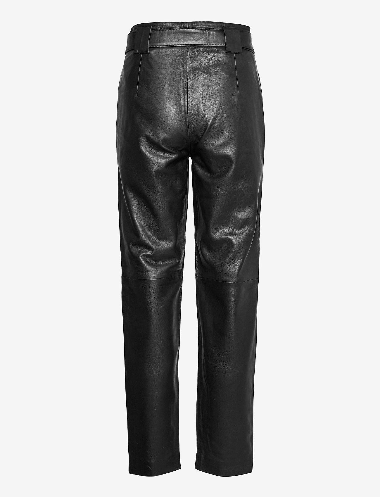 Just Female - Sago leather trousers - lederhosen - black - 1