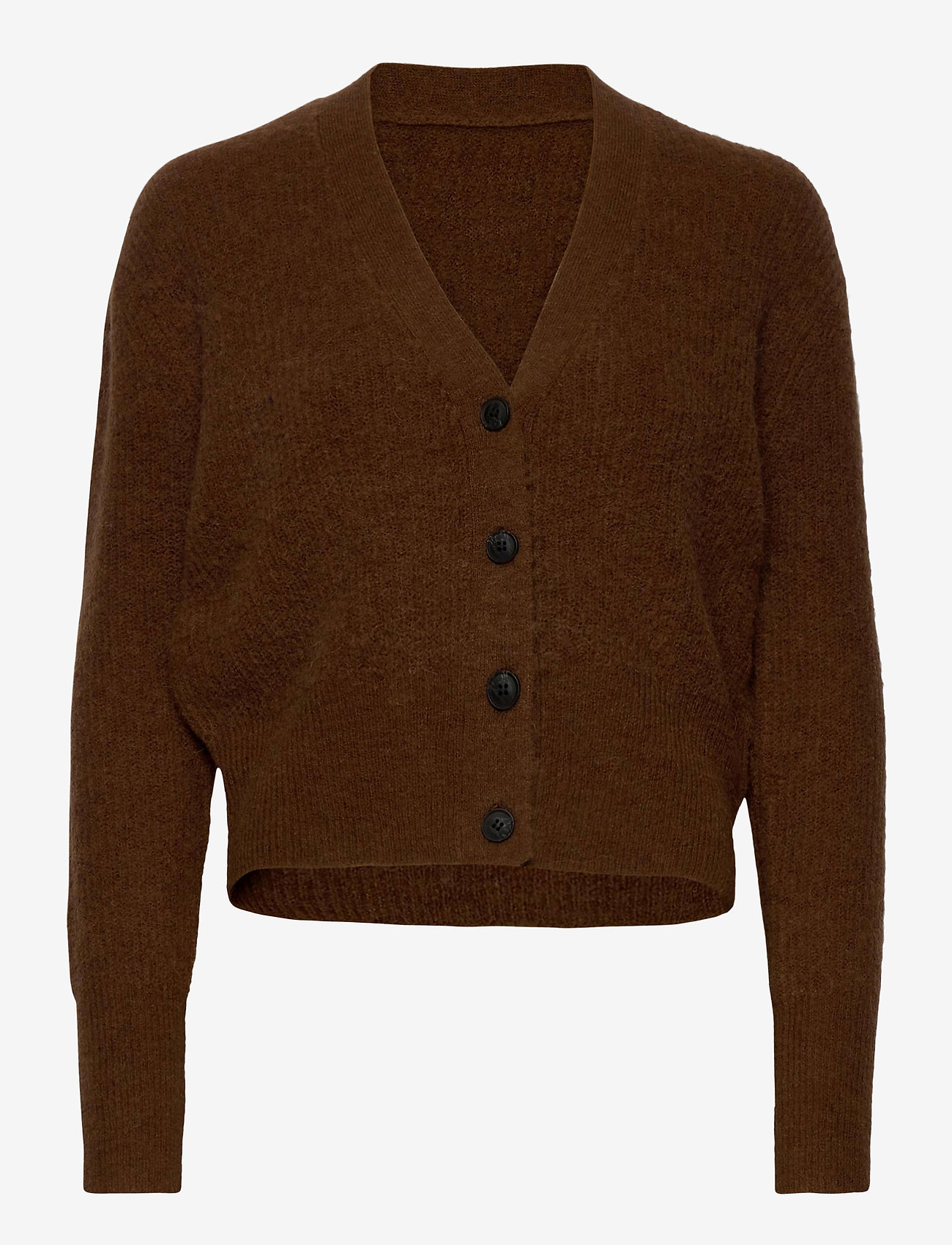 Just Female - Rebelo knit cardigan - koftor - emperador - 0