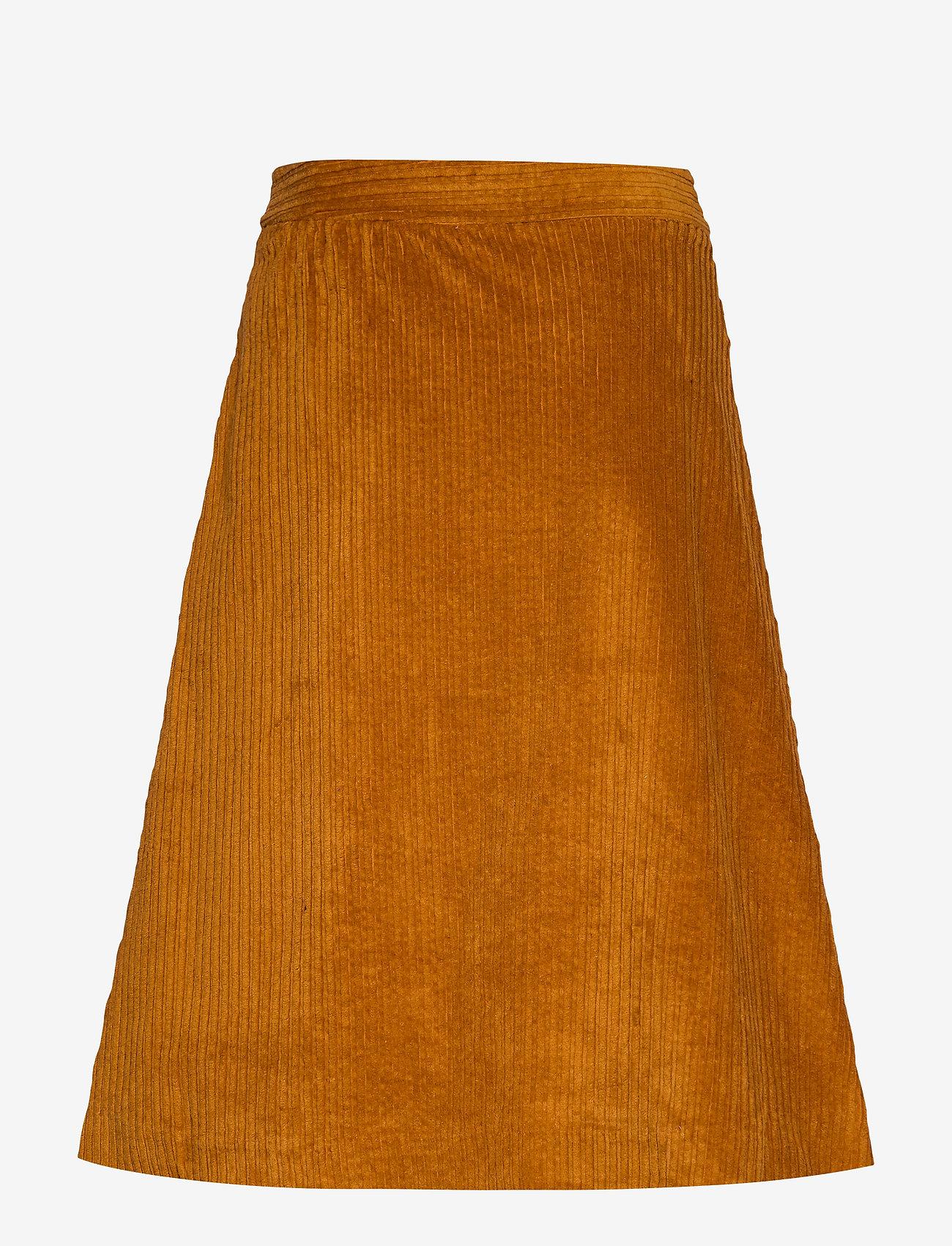 Just Female Corduroy skirt - Spódnice PUMPKIN SPICE - Kobiety Odzież.