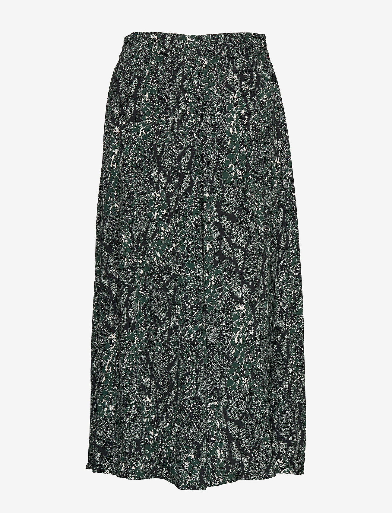 Just Female - Christle skirt - sportkjolar - green snake aop - 1