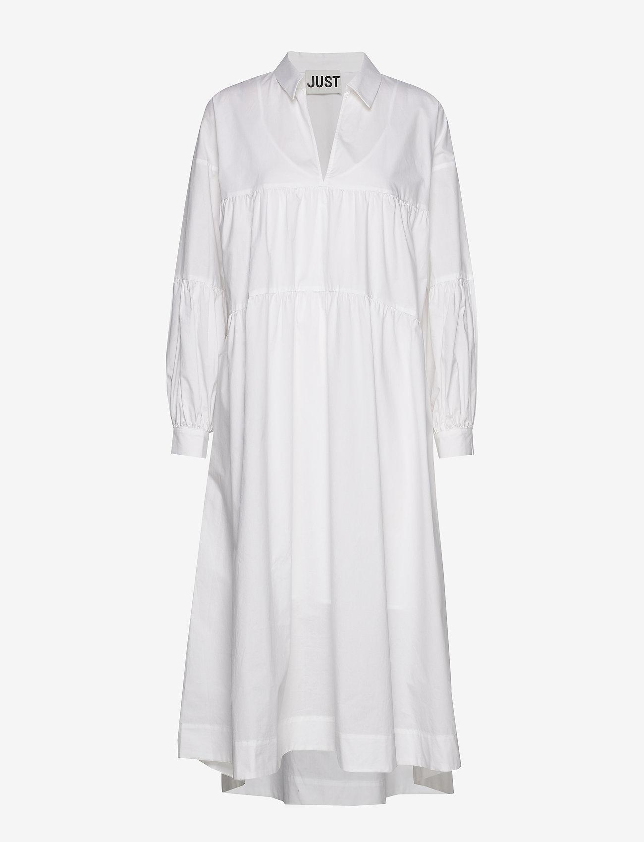 Just Female - Brandy maxi dress - summer dresses - white - 1