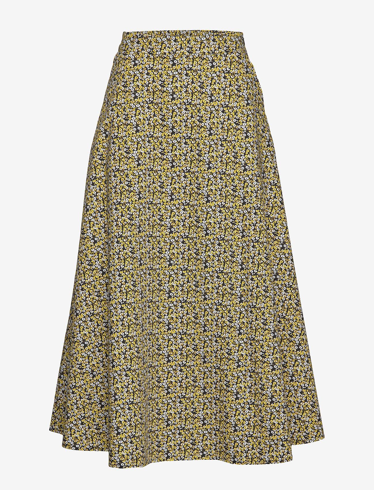 Just Female - Dove maxi skirt - midi skirts - multi flower aop - 0