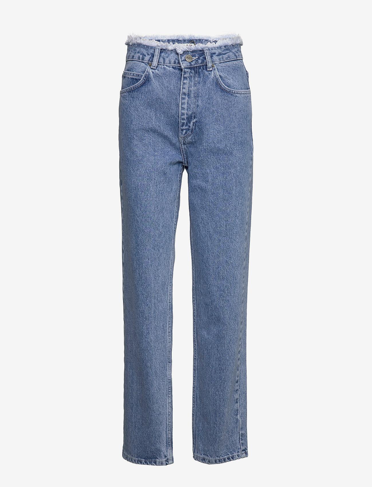 Just Female - Norma denim jeans - suorat - blue denim - 1
