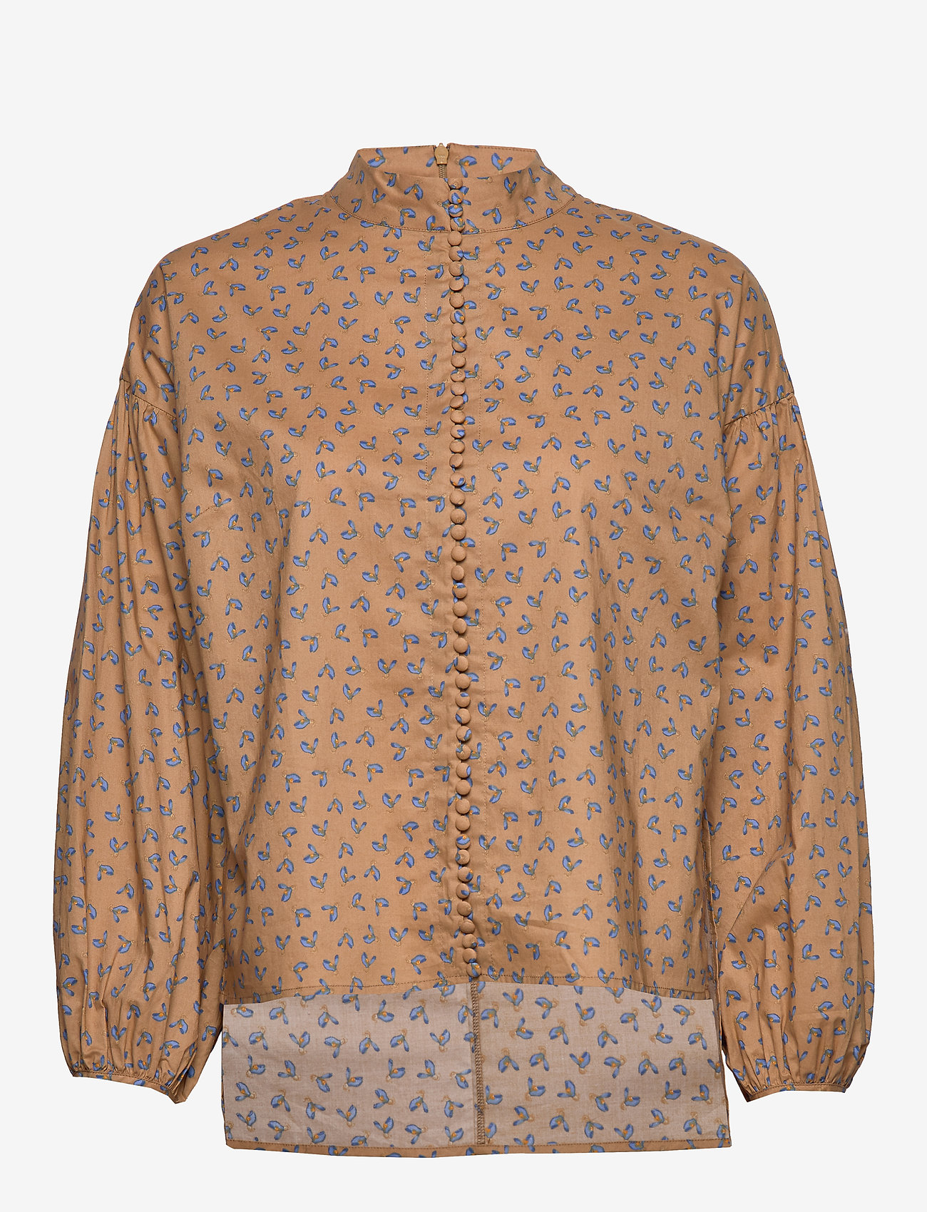 Just Female - Merle shirt - long sleeved blouses - snowdrop khaki - 0