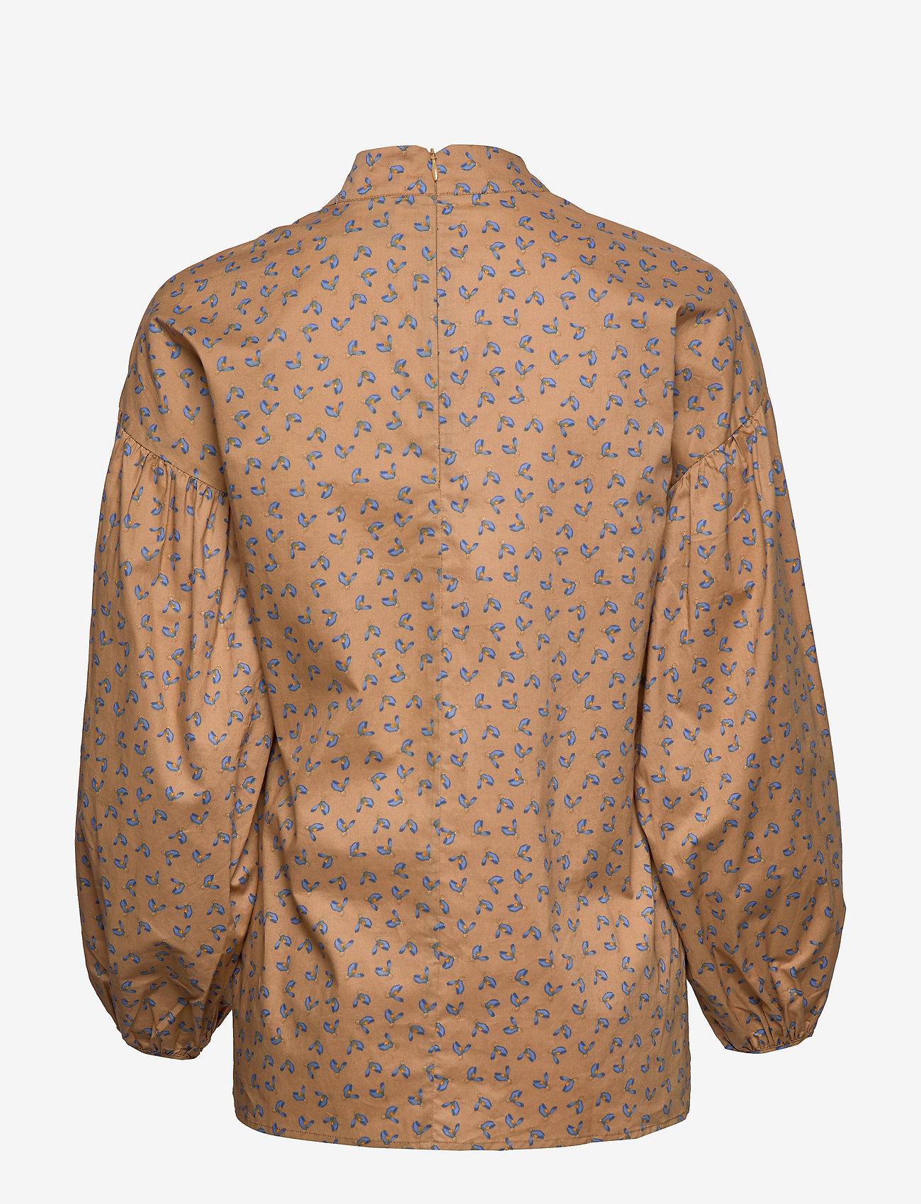 Just Female - Merle shirt - long sleeved blouses - snowdrop khaki - 1