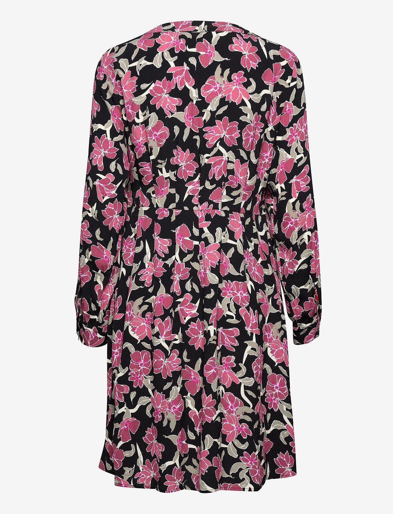 Just Female - Alda dress - midi dresses - romantic flower aop - 1