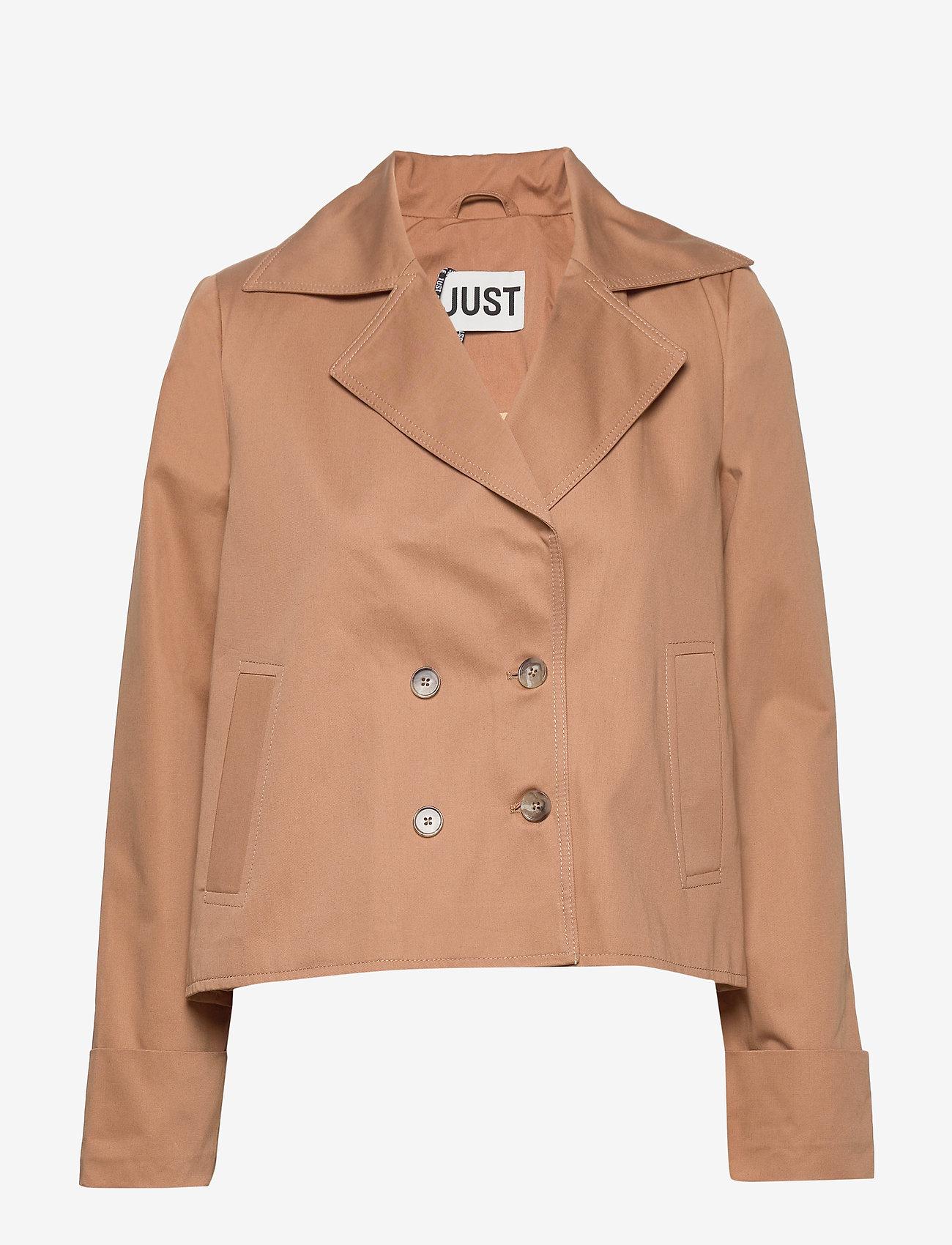 Just Female - Zena jacket - utility jackets - thrush - 0