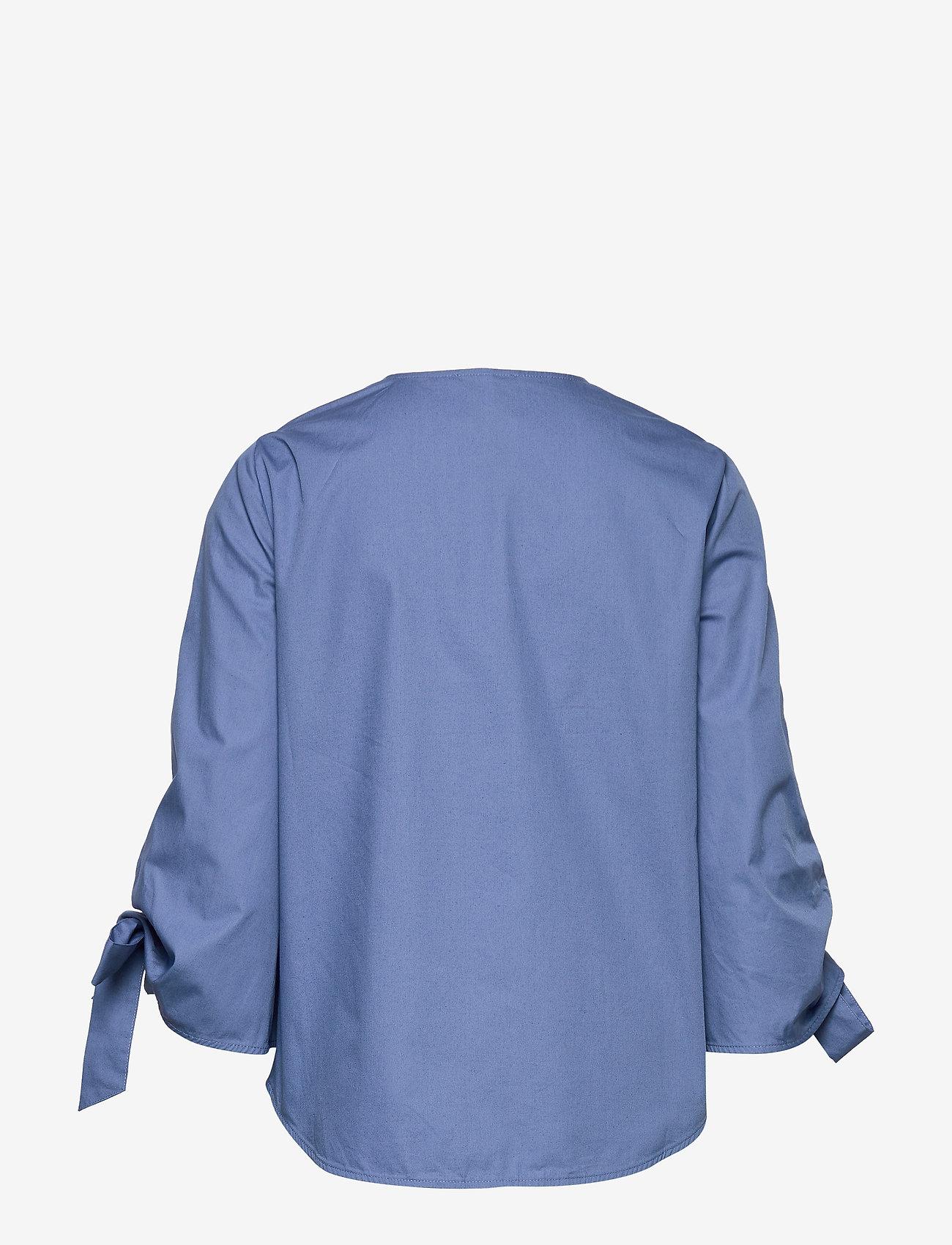 Just Female - Majken blouse - långärmade blusar - riverside - 1