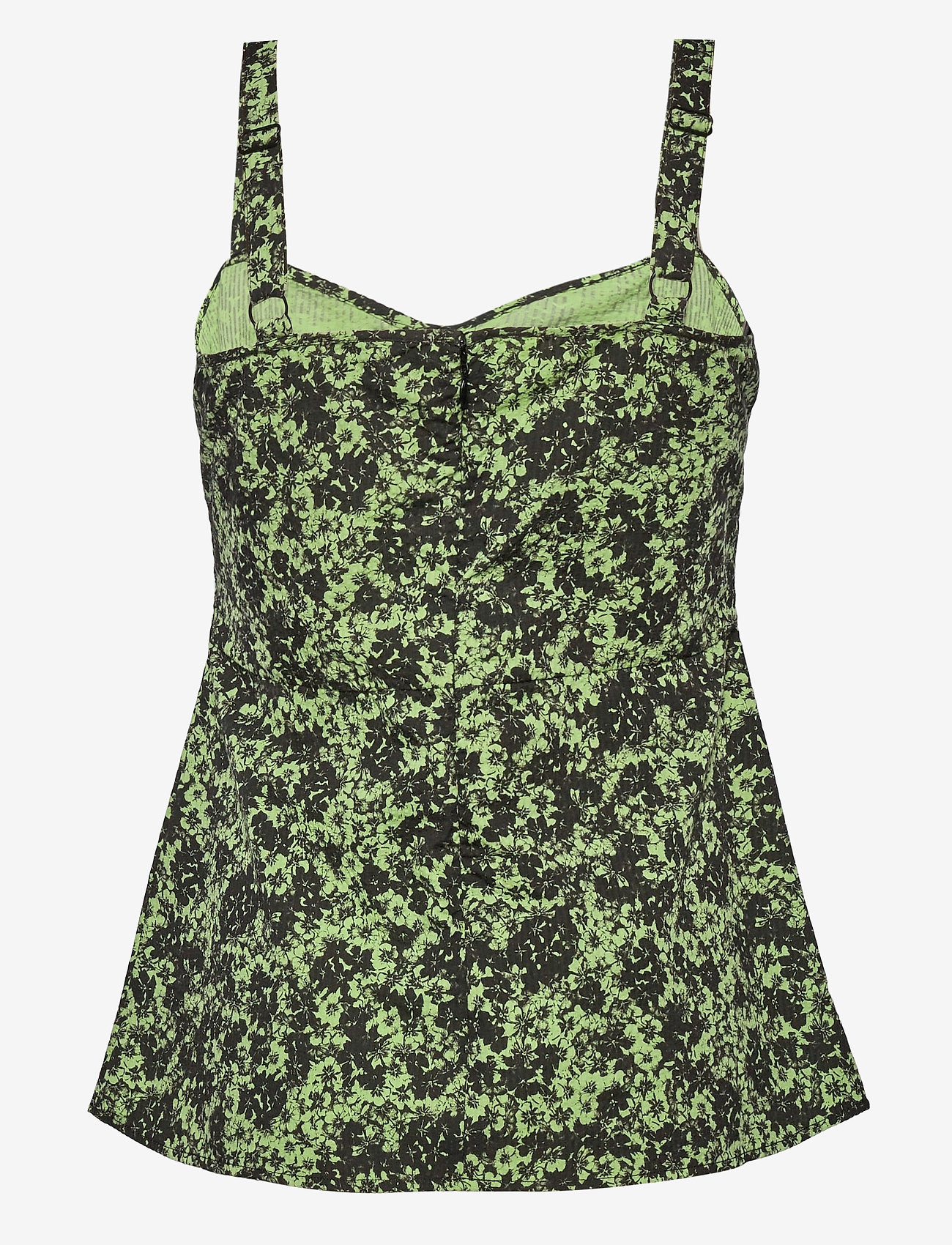 Just Female - Alicia top - sleeveless blouses - tropical sap green - 1