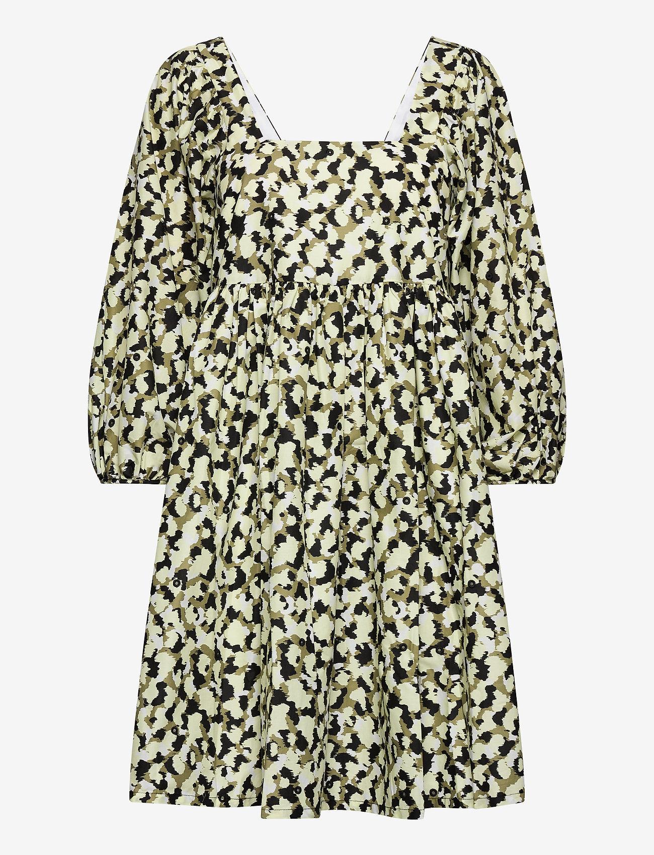 Just Female - Nellie dress - summer dresses - blurred camo aop - 0