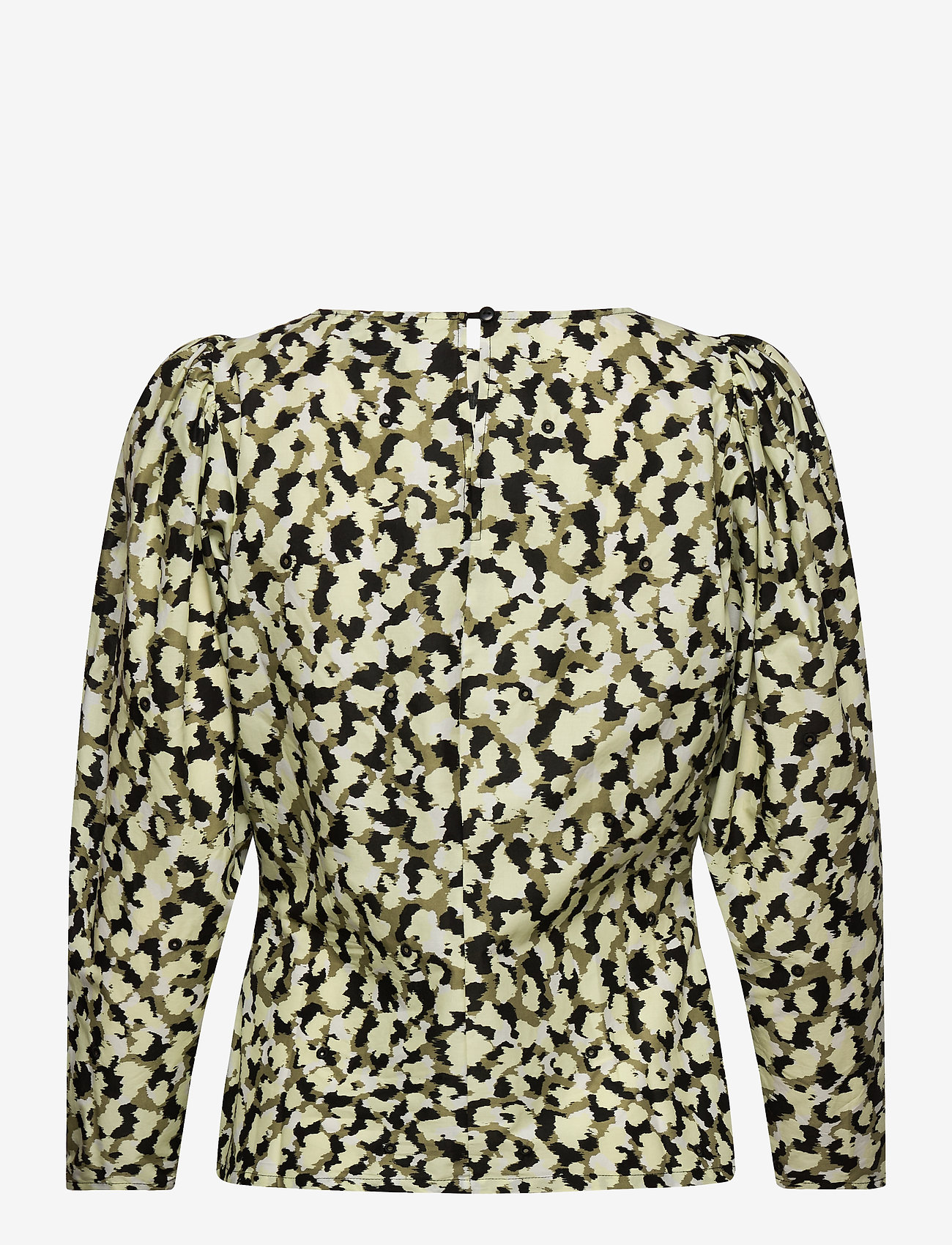 Just Female - Nellie blouse - long sleeved blouses - blurred camo aop - 1