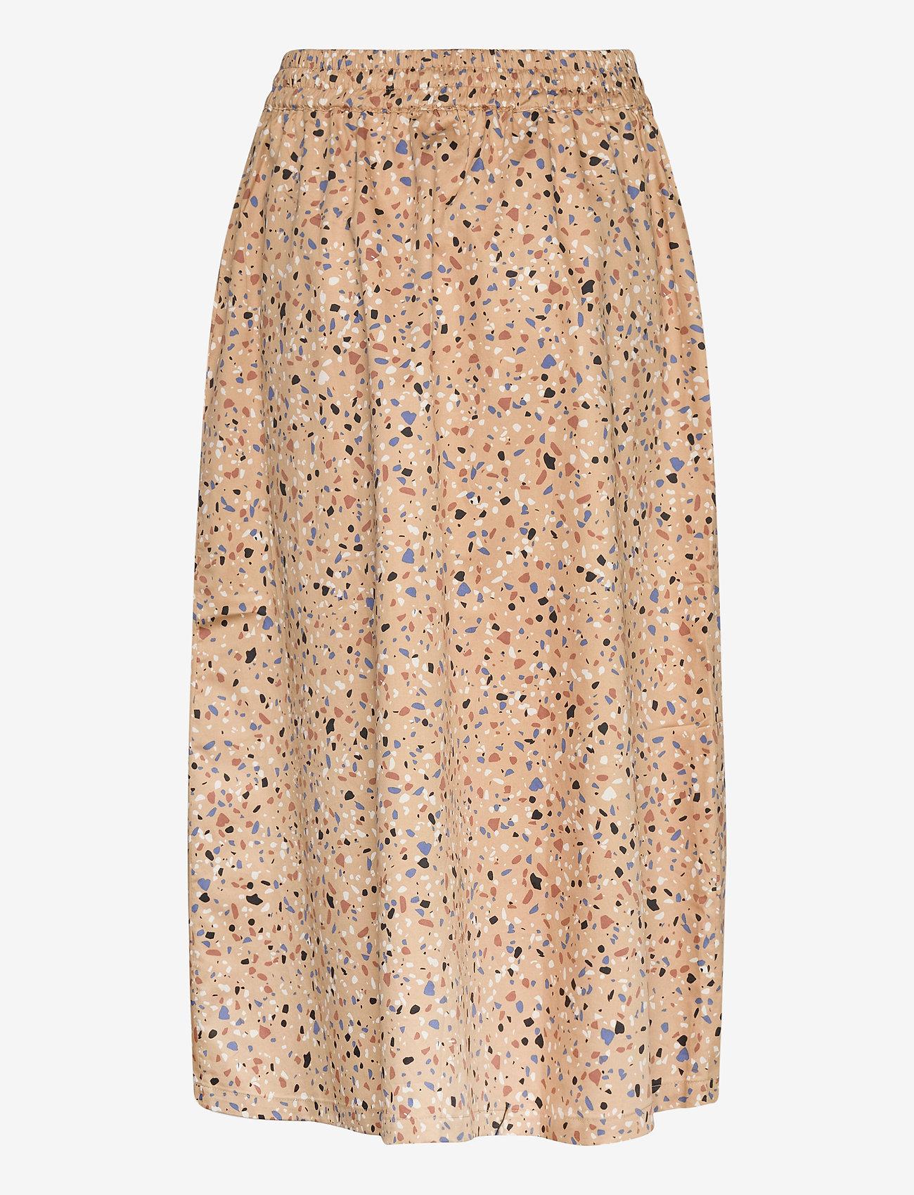 Just Female - Juvina skirt - midi skirts - terazzo aop - 1