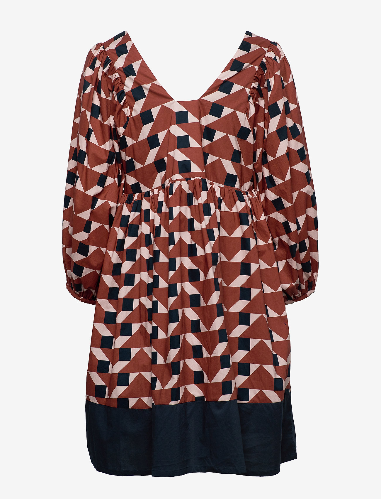Just Female - Meghan dress - everyday dresses - trapez aop - 1