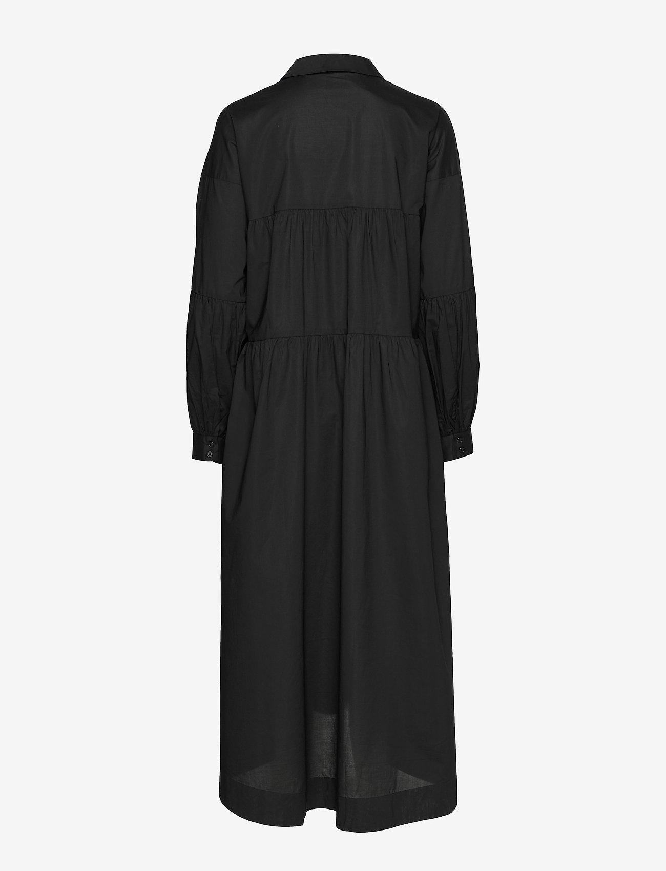 Just Female - Mandy maxi dress - midiklänningar - black - 1