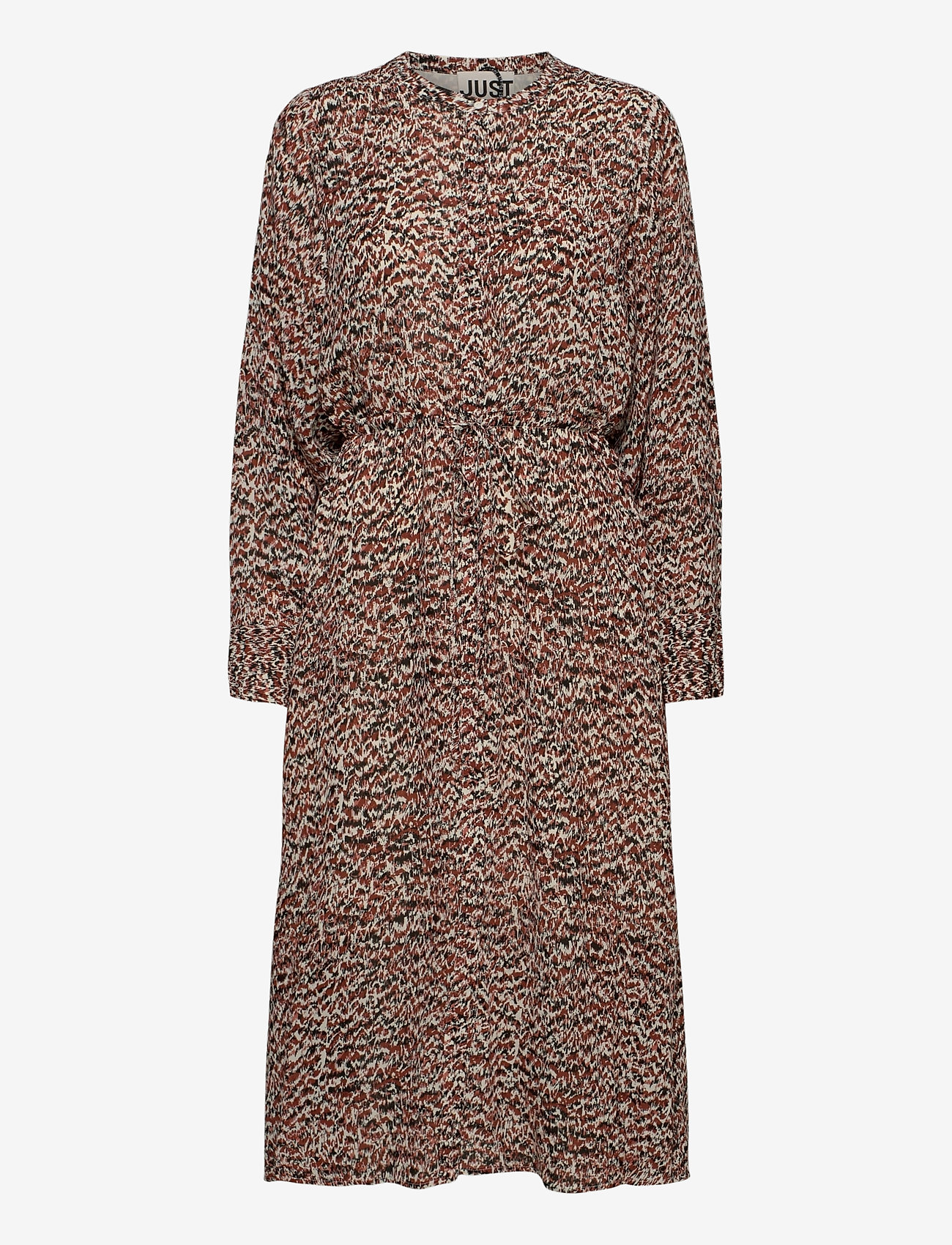 Just Female - Virginia dress - summer dresses - sketchy ikat aop - 1