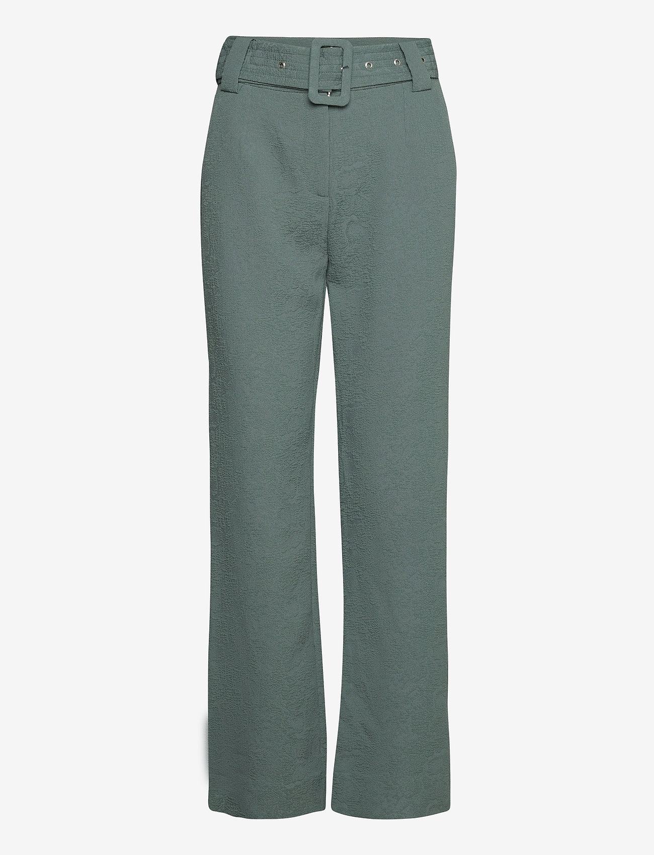 Just Female - Bonnie trousers - bukser med brede ben - balsam green - 1