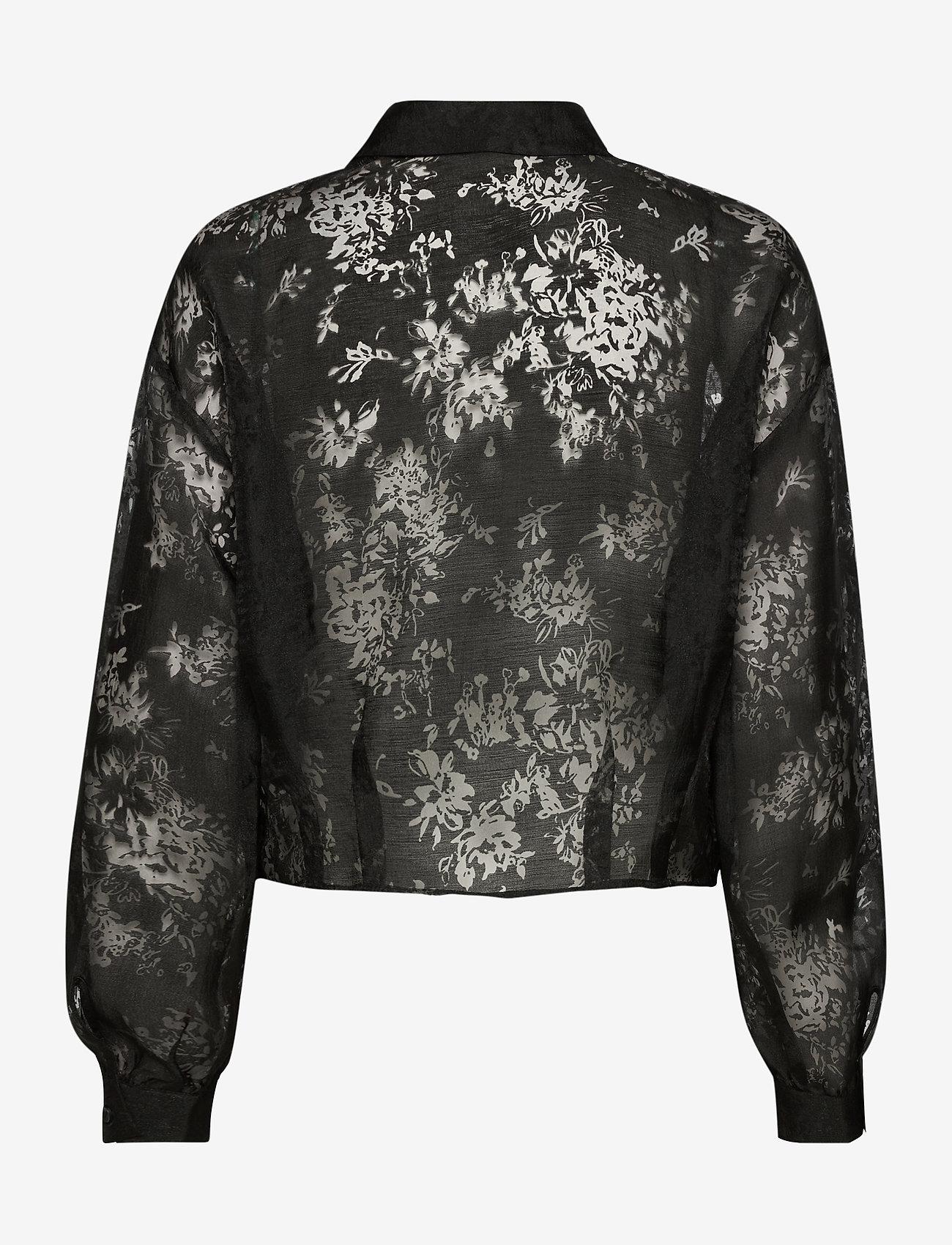 Just Female Kiki shirt - Bluzki & Koszule BLACK - Kobiety Odzież.