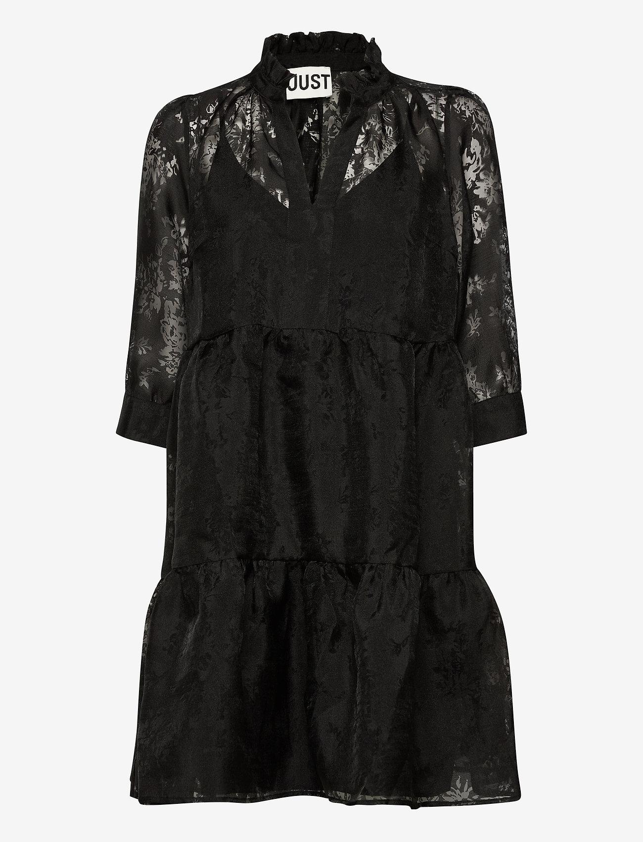 Just Female - Kiki dress - short dresses - black - 1