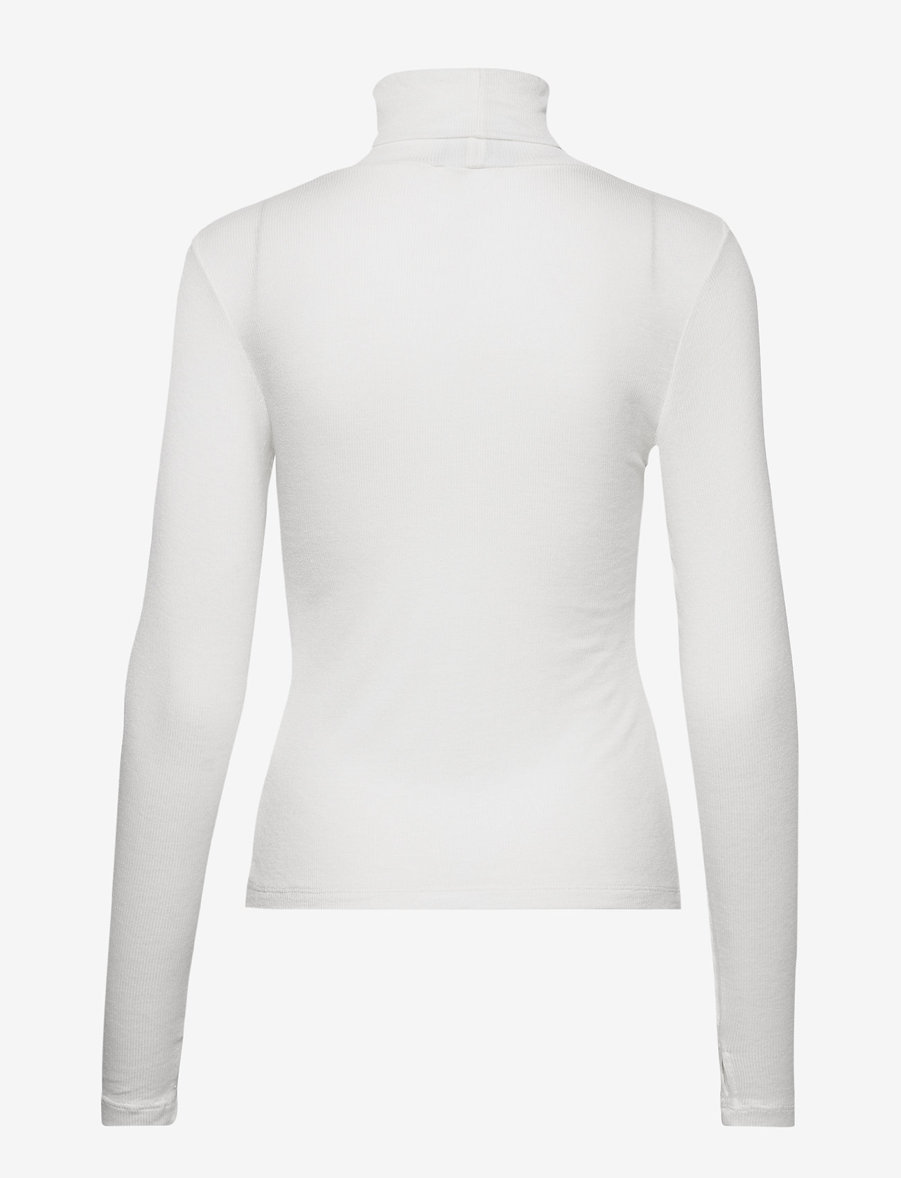 Just Female - Millie ls rollneck - long-sleeved tops - papyrus - 1