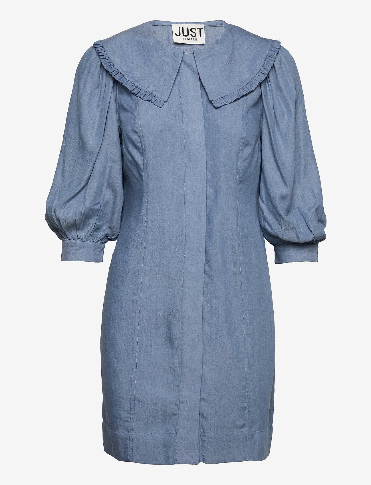 Just Female - Texas dress - everyday dresses - light blue - 1