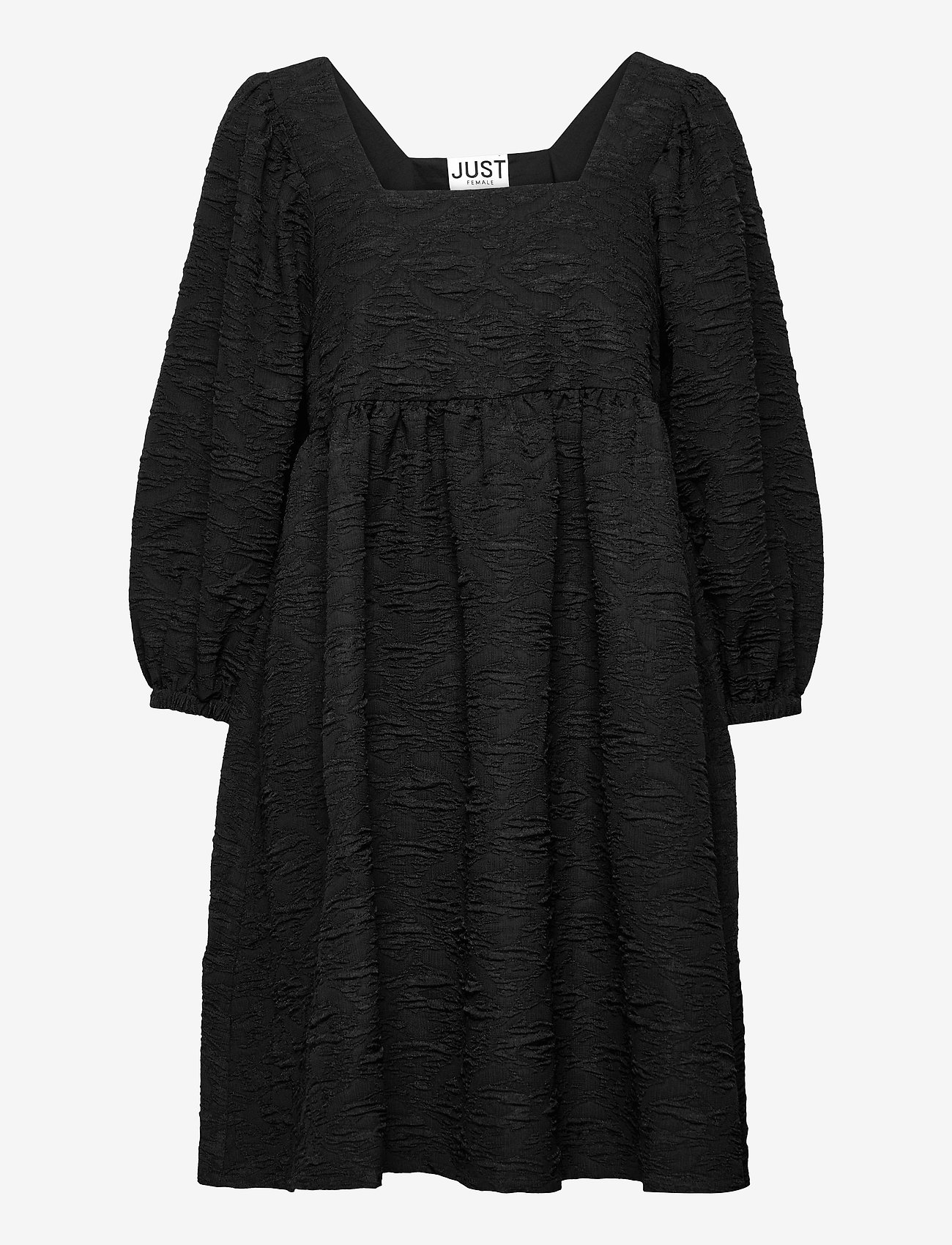 Just Female - Toda dress - vardagsklänningar - black - 1