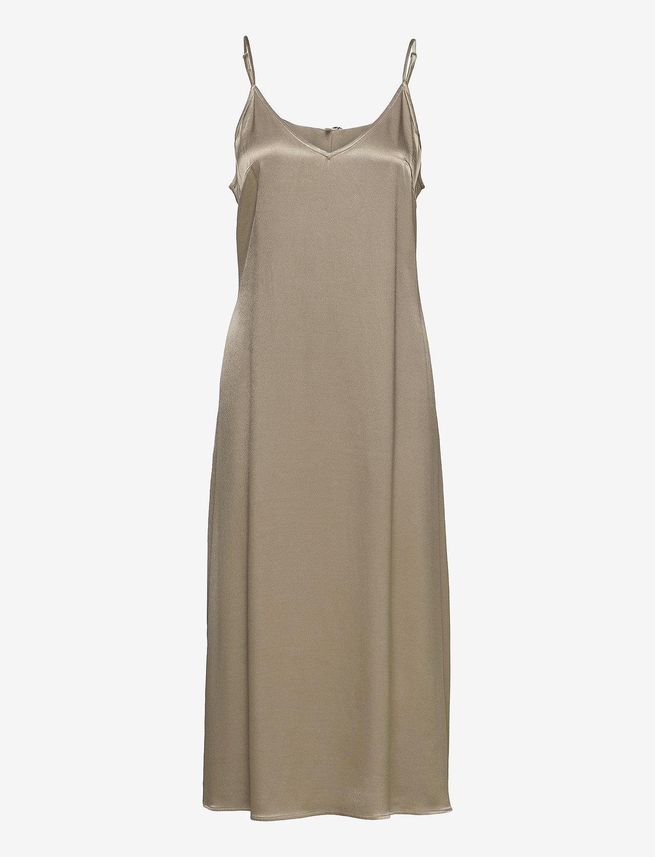 Just Female - Delta singlet dress - midi dresses - fungi - 1