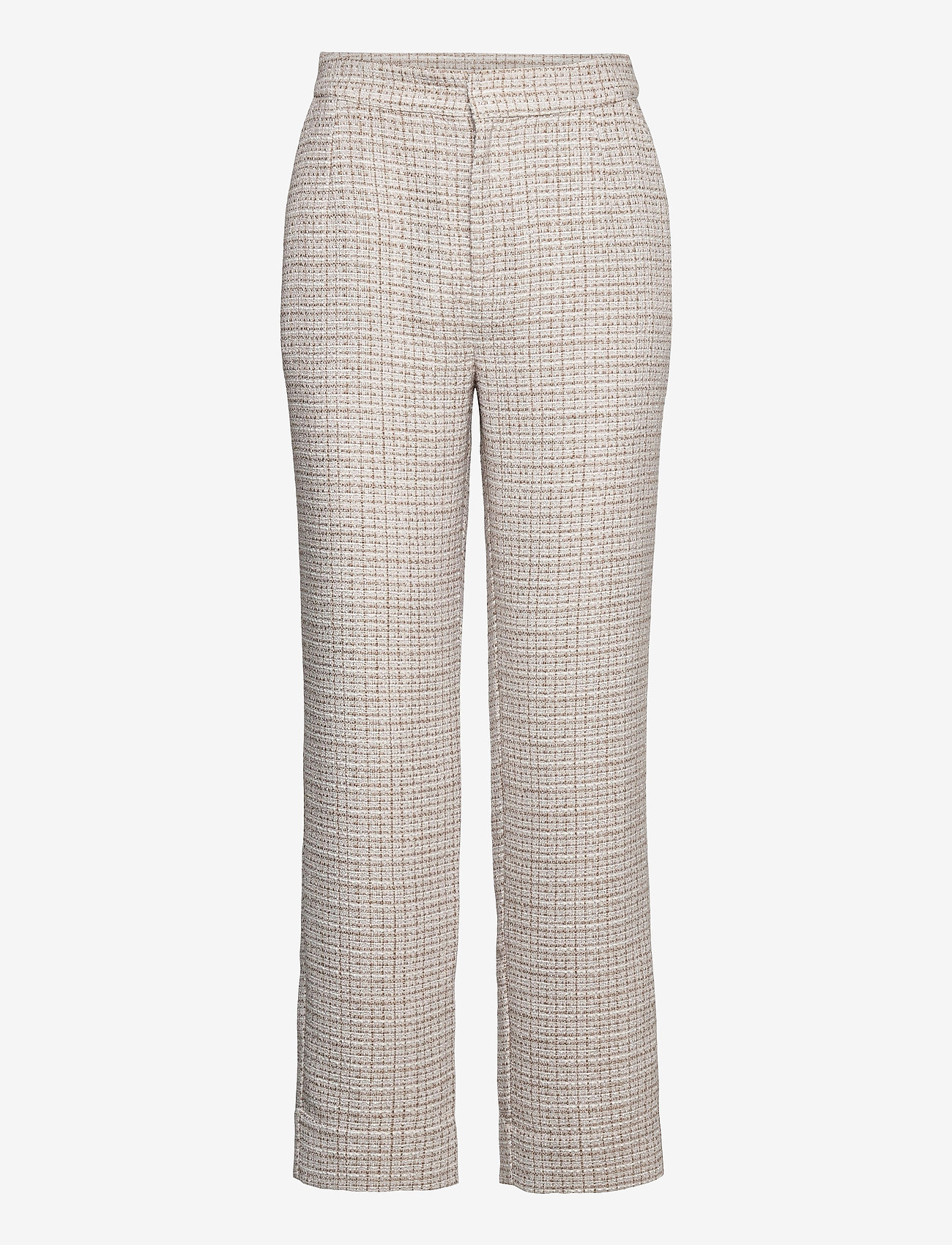 Just Female - Metz trousers - straight leg trousers - ice grey stone mix - 1