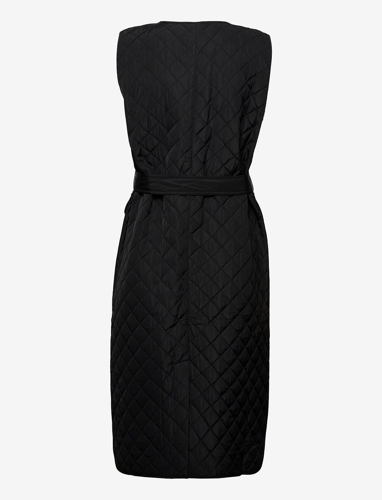 Just Female - Hisar vest - puffer vests - black - 2