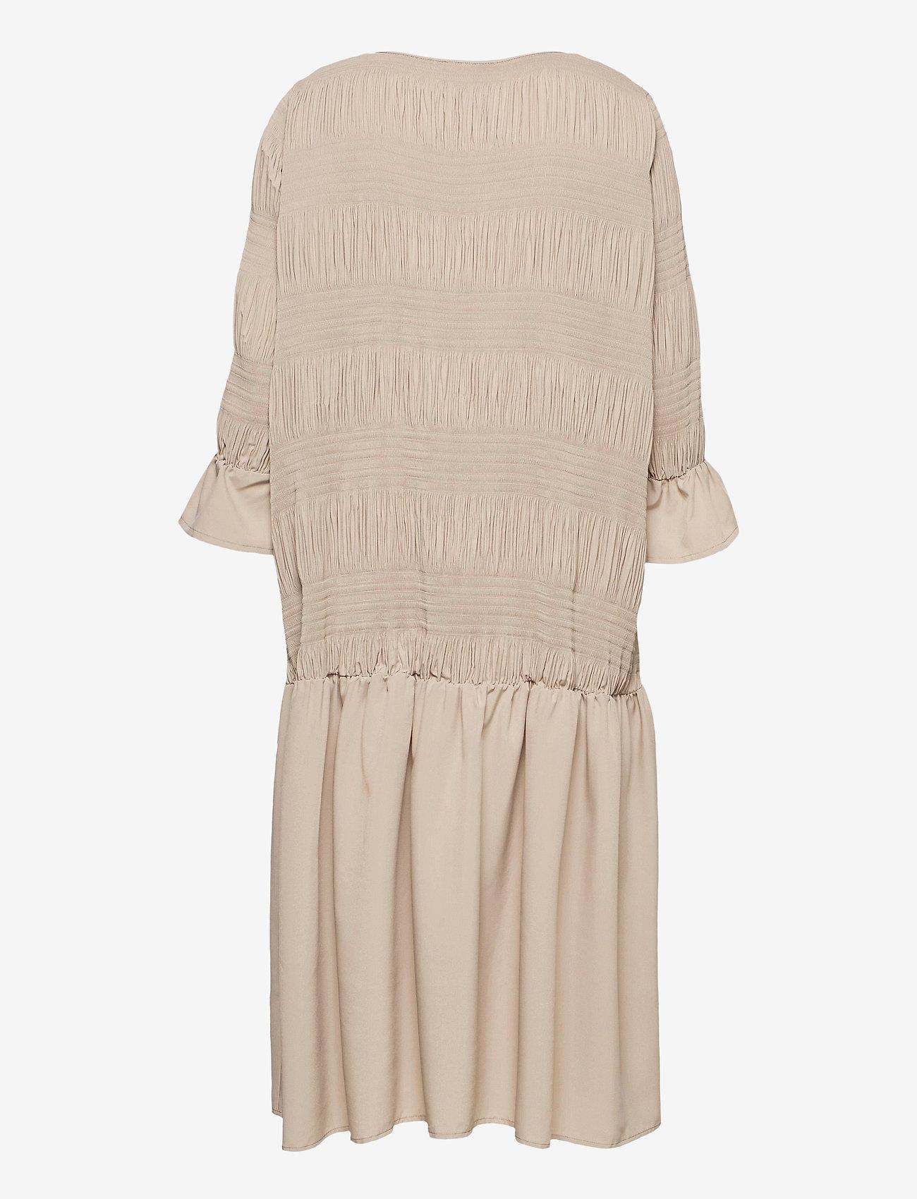 Just Female - Etienne dress - midi kjoler - cobblestone - 2