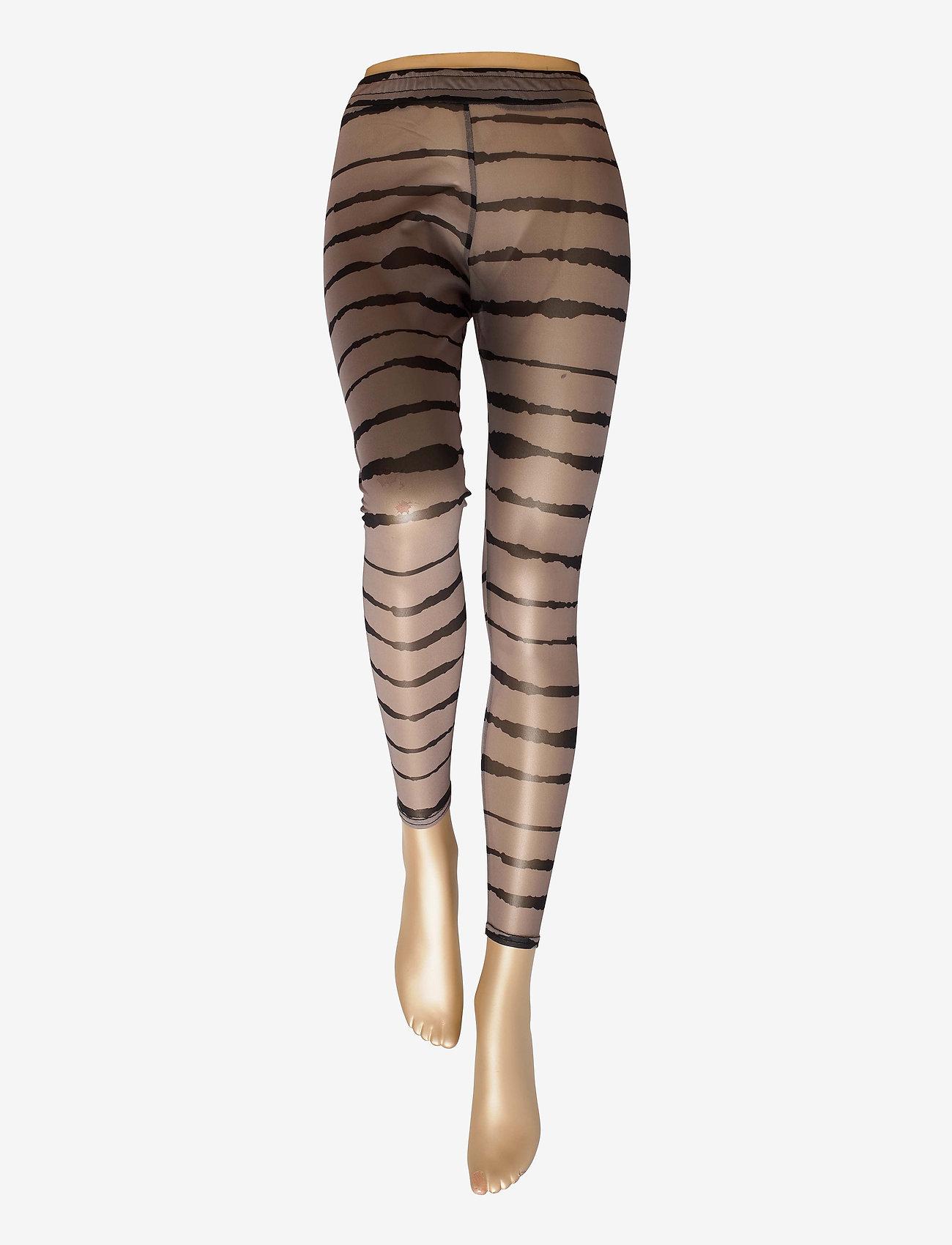 Just Female - Houston leggings - leggings - uneaven lines aop - 1