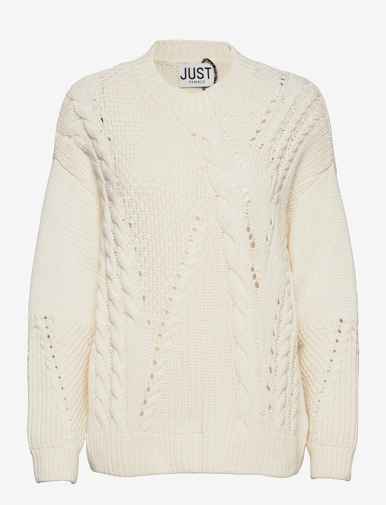Just Female - Via knit - jumpers - off white - 0