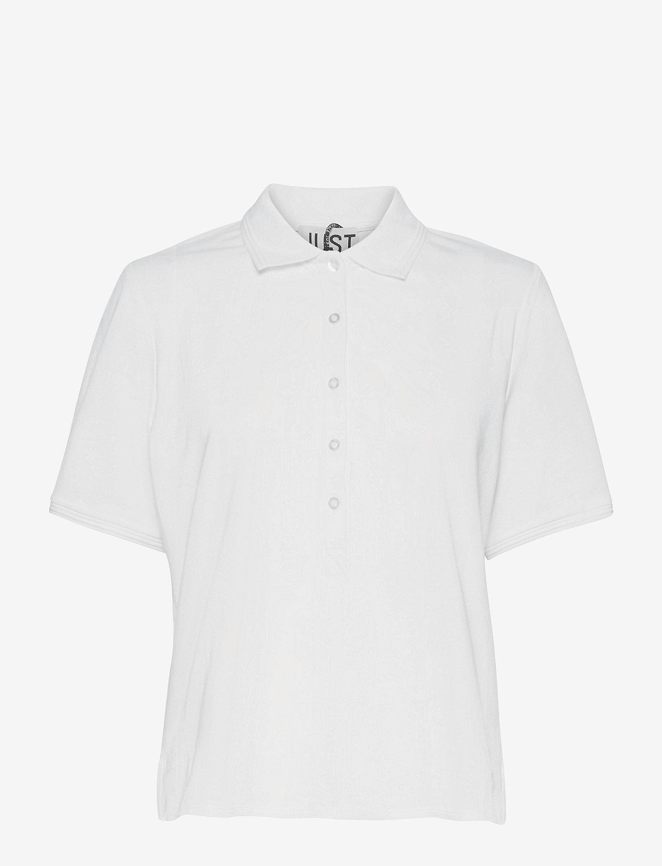 Just Female - Santo polo shirt - polohemden - white - 1